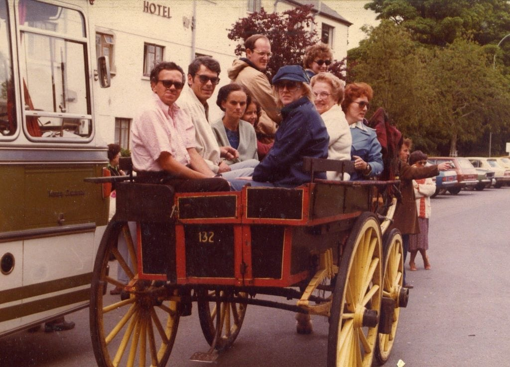 1980's – The Evolution Of The Traditional Jaunting Car